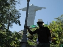 O'Neal at Cristo Redentor