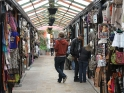 Jared wanders through a flee market