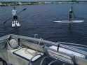 Paddle Surfing Lake Champlain