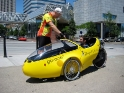 Riding the go-one velomobile in Portland
